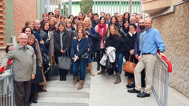 Asistentes al encuentro en Mallorca