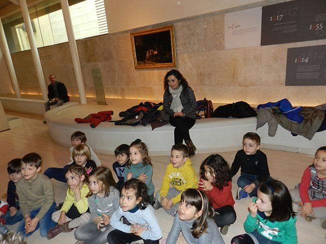 Alumnos de infantil de La Salle aprenden la historia de Los Amantes de Teruel