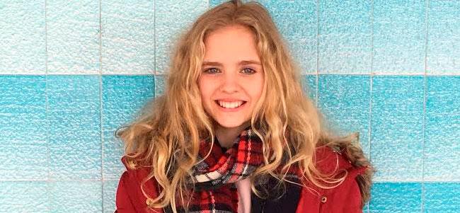 Alexandra Moody, alumna de La Salle Palma, toda una campeona de gimnasia rítmica