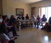 Profesores del Colegio La Salle Paterna visitan el nuevo piso de emancipación de La Salle Acoge