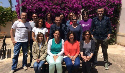 El equipo de orientadores del Sector Valencia-Palma se reúne en Cala Morlanda