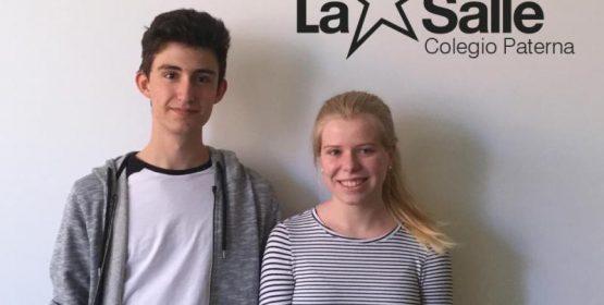 Dos alumnos de 1º de Bachillerato del Colegio La Salle Paterna participarán en programa Campus Científico