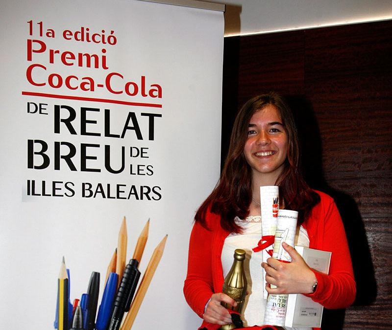 Mar Sintes, alumna de La Salle Maó, ganadora del concurso de redacción de las Islas Baleares