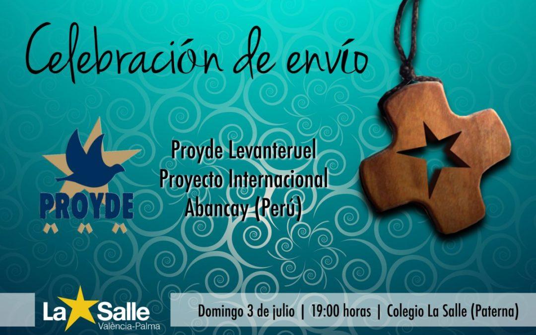Celebración del envío de Proyde Levanteruel en Paterna