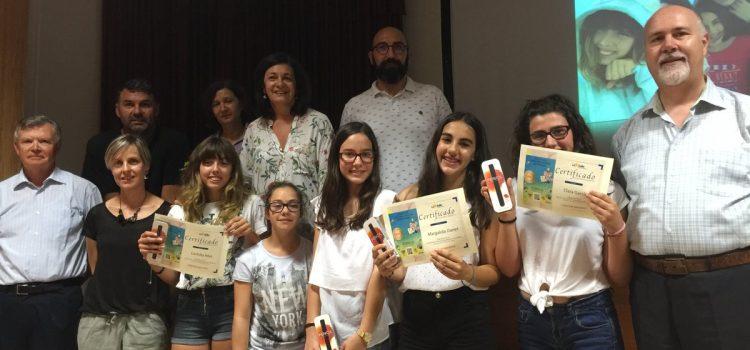 Entrega de premios a las ganadoras del I Concurso de Videograbaciones Científicas