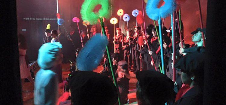 Mary Poppins, una función de teatro llena de solidaridad
