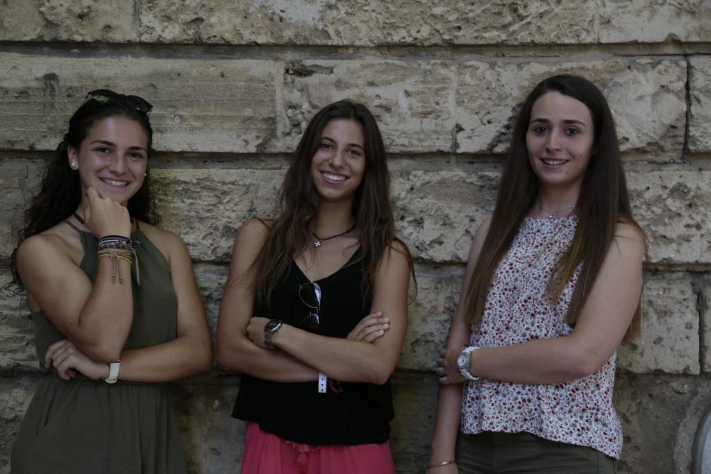 Laura Moreno, Marta Cuenca e Irene Cantallops (foto: P. Bota)