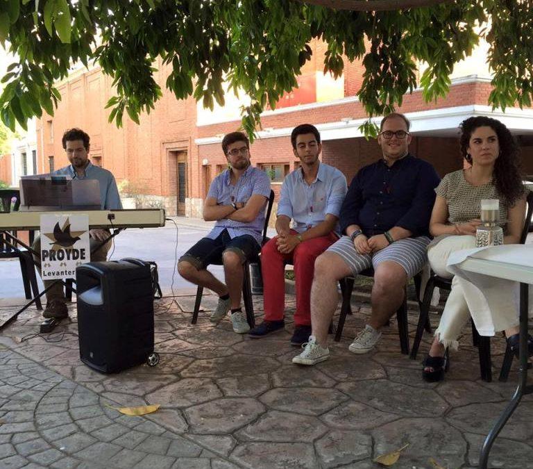Ceremonia de celebración del Envío de voluntarios de verano 2016 en Paterna
