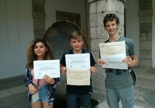 Miquel Llorach, alumne de La Salle Manacor, a la Olimpíada Matemàtica a Santander
