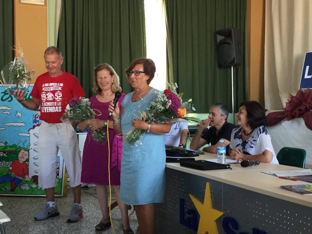 Joana, Felipe y Montserrat, jubilados este año