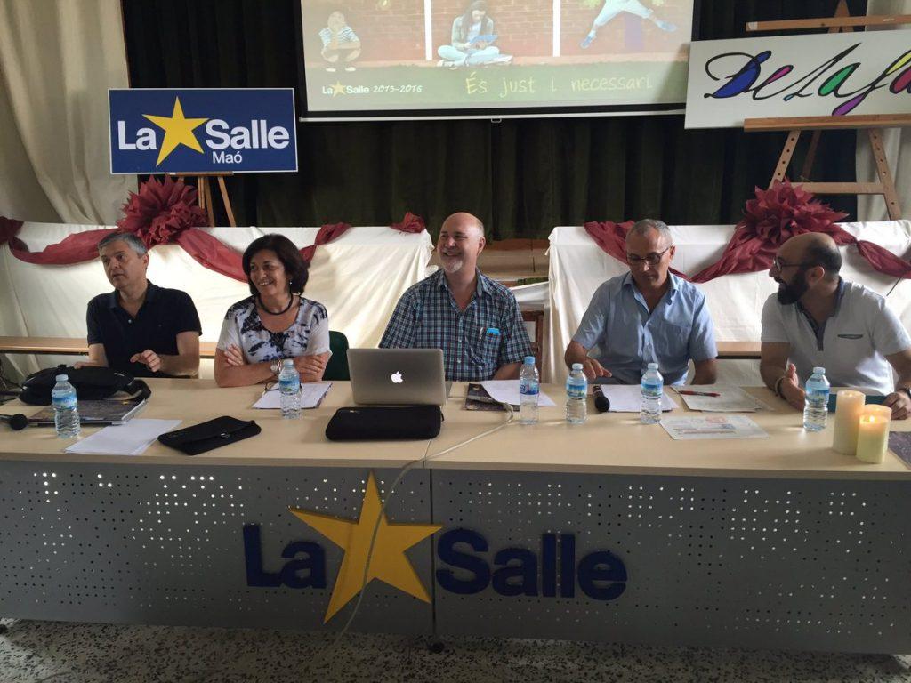 Presentación de las Jornadas en Menorca