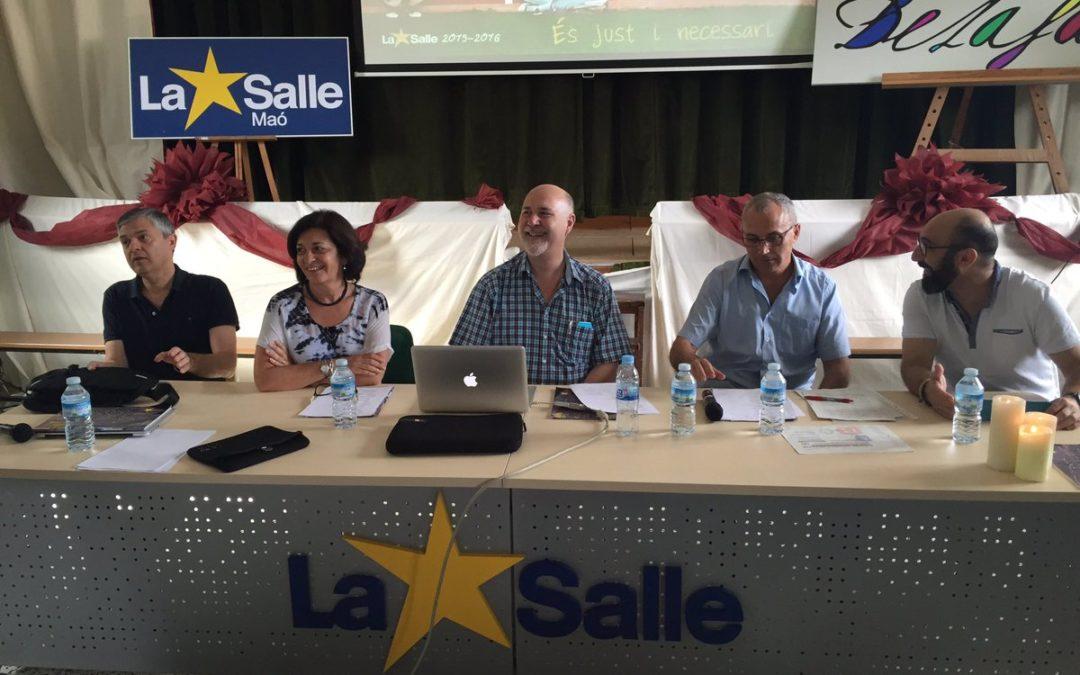 Maó, Palma y Paterna acogen las Jornadas Institucionales de La Salle 2016