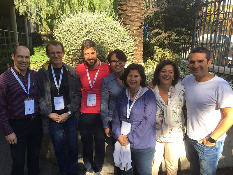 Amplia representación de La Salle Valencia-Palma en el II Encuentro de FP distrital en Barcelona