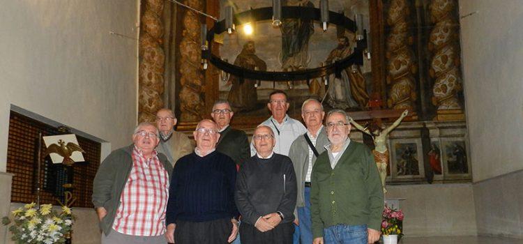 La Comunidad de Teruel ofrece su proyecto comunitario a María Inmaculada en Miedes