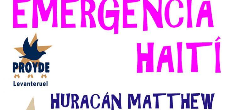 Ayuda de emergencia para los afectados/as por el Huracán Matthew en Haití