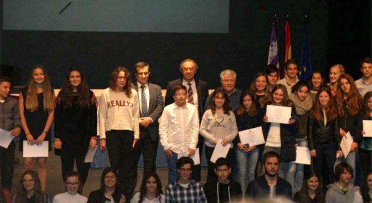 Àngel Rubio Oliver, alumne de La Salle Inca, guardonat amb el Premi a  l'Exel·lència a l'Educació Primària