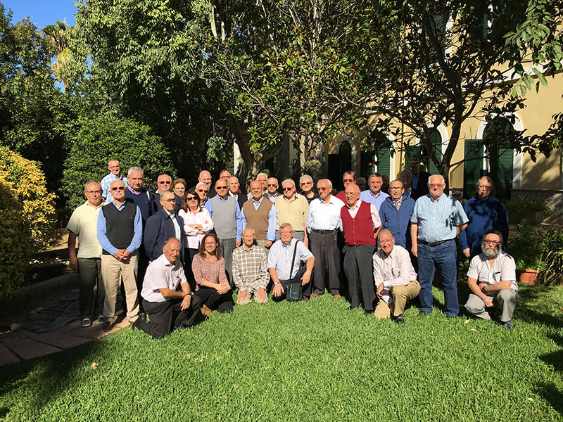 Encuentro Intercomunitario de La Salle en el sector Valencia-Palma con la presencia del Hno. Álvaro Rodríguez