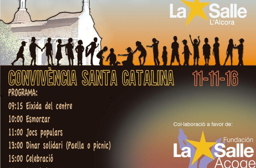 El colegio La Salle l'Alcora prepara la tradicional Diada de Santa Catalina