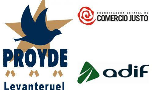 PROYDE y Adif colaboran en la estación del Nord de Valencia para difundir el comercio justo