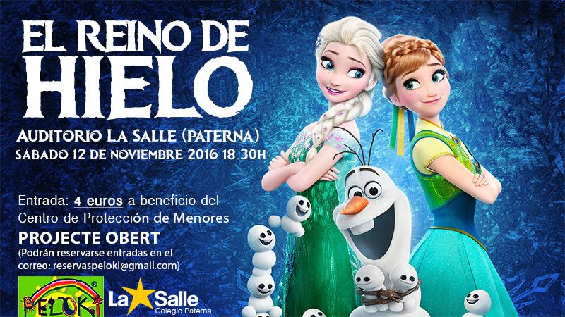 Musical a benefico de Projecte Obert en el auditorio La Salle de Paterna