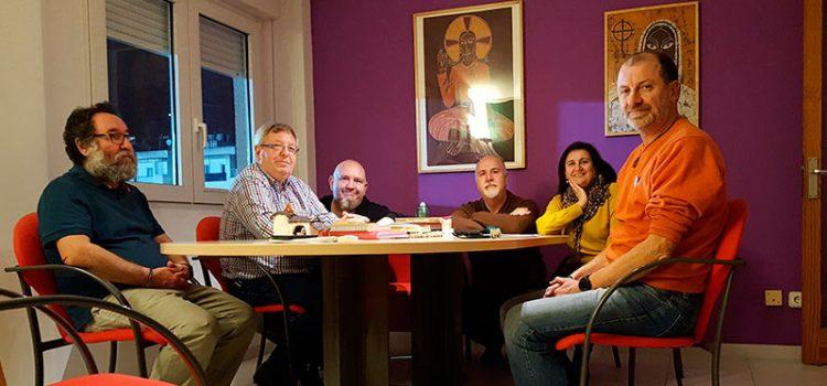 La comunidad de Montserrat recibe la visita del asociado Guillem Coll