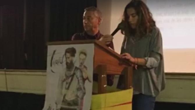 El col·legi La Salle Alcoi participa en la lectura col·lectiva del 'Tirant lo Blanch'