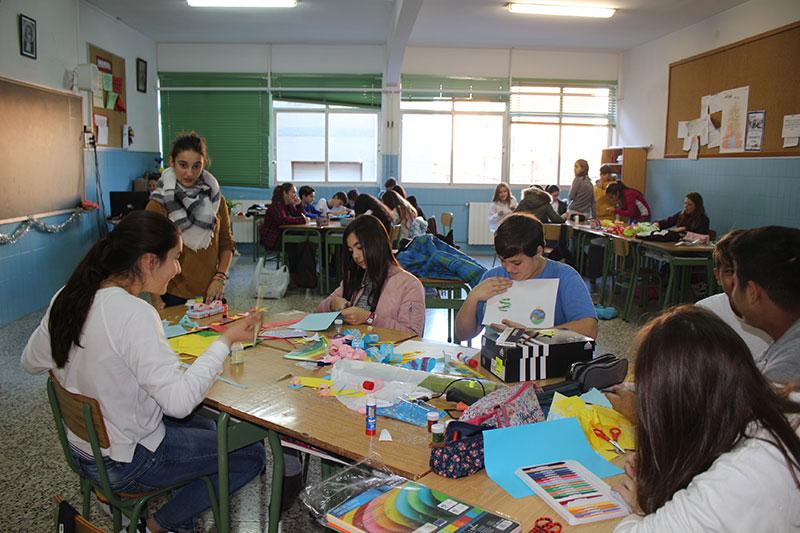 La Salle Benicarló celebra su tradicional Día del Pesebre