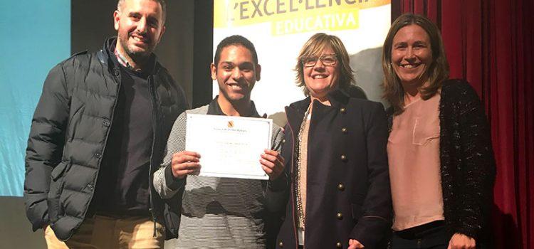 Gabriel Souza Ribeiro, alumne de La Salle Maó, guardonat amb el Premi a l'esforç personal d'ESO