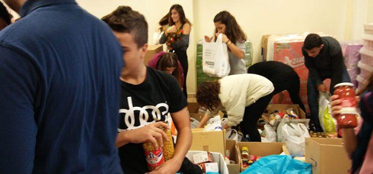 Els alumnes de 3r ESO de La Salle Maó ajuden Càritas Menorca