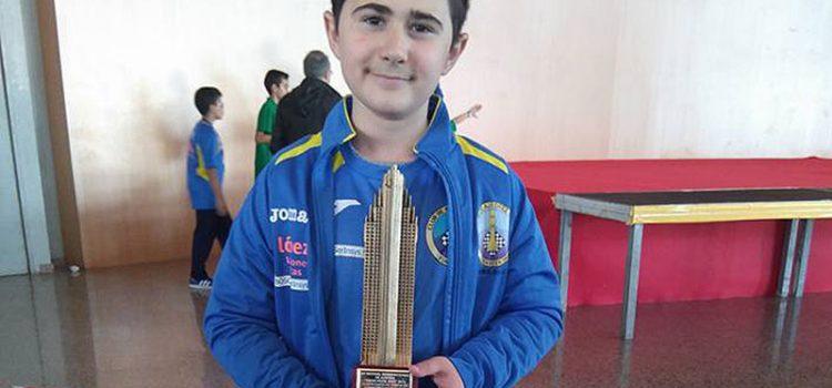 José García Molina, alumno de la Escuela Profesional La Salle de Paterna, campeón de España de Ajedrez por equipos