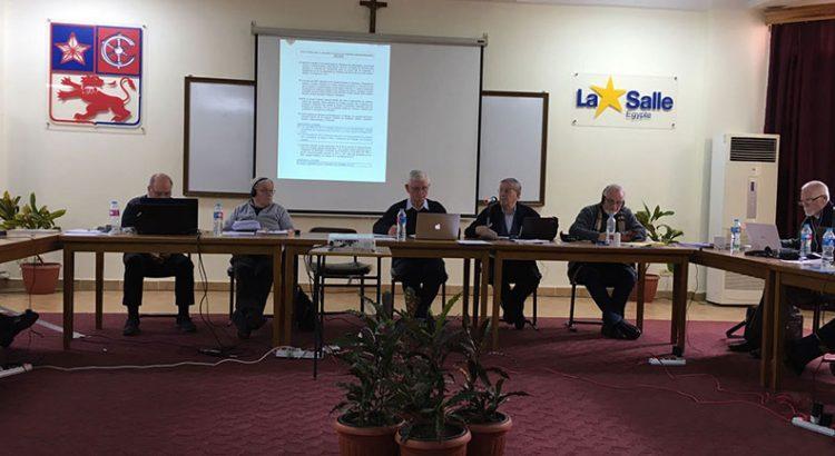 Nueva jornada de trabajo de la Conferencia de Hermanos Visitadores de la RELEM en Alejandría