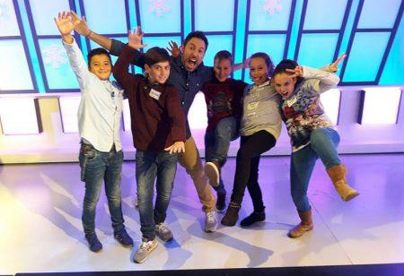 Cuatro alumnos de La Salle Teruel participan en una gratificante experiencia televisiva