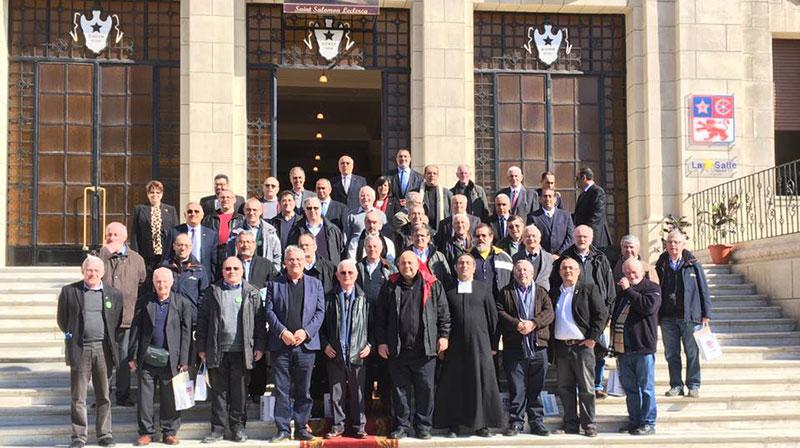 La Conferencia de Hermanos Visitadores de la RELEM visita el colegio de San Marcos en Alejandría