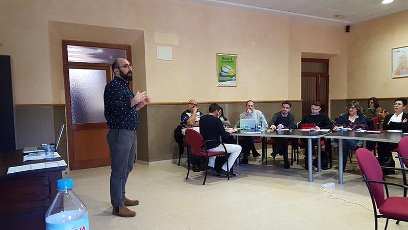 Reunión de directores técnicos y jefes de estudios de la zona insular de La Salle del sector Valencia-Palma