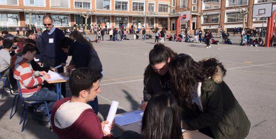 236 alumnos de once colegios de la Comunitat Valenciana participan en los XV Juegos Matemáticos de La Salle