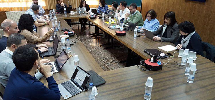 Reunión de directores generales de las obras educativas del sector Valencia-Palma en Llíria