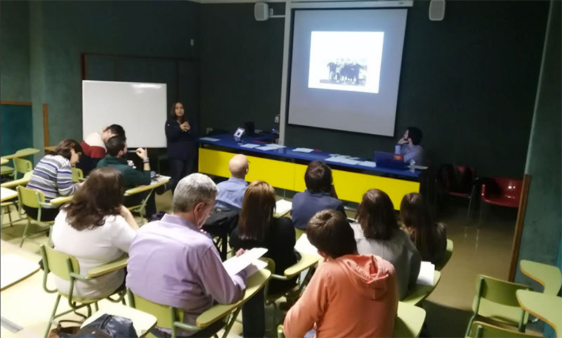 Reunión de voluntarios de Gente Pequeña – Proyde en Paterna