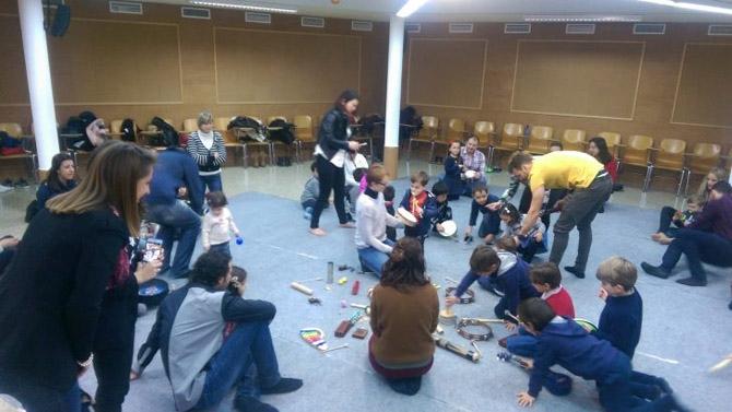 La Salle Alcoi emociona a los niños con actividades lúdicas