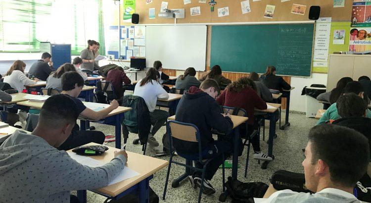 El colegio La Salle de Maó participa en las pruebas Cangur de Matemáticas