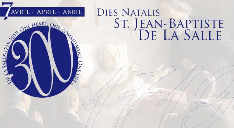 Hoy, 7 de abril, es un día muy especial para todos los lasalianos