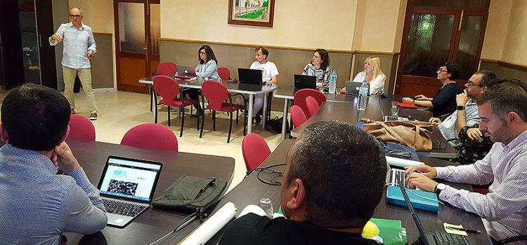 Los directores generales de La Salle Valencia-Palma se reúnen en Pont d'Inca para planificar el próximo curso