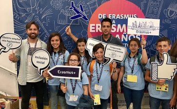 """El Colegio La Salle Paterna participa en el evento """"Erasmus + 30 años enriqueciendo vidas, abriendo mentes"""" en Madrid"""