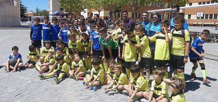 500 deportista de los colegios La Salle de Benicarló, Alcora, Paterna y Teruel participan en los Juegos de la Amistad