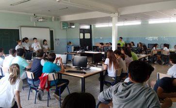 Alumnos de Primaria y ESO de La Salle Alcoi aprenden juntos sobre innovación empresarial