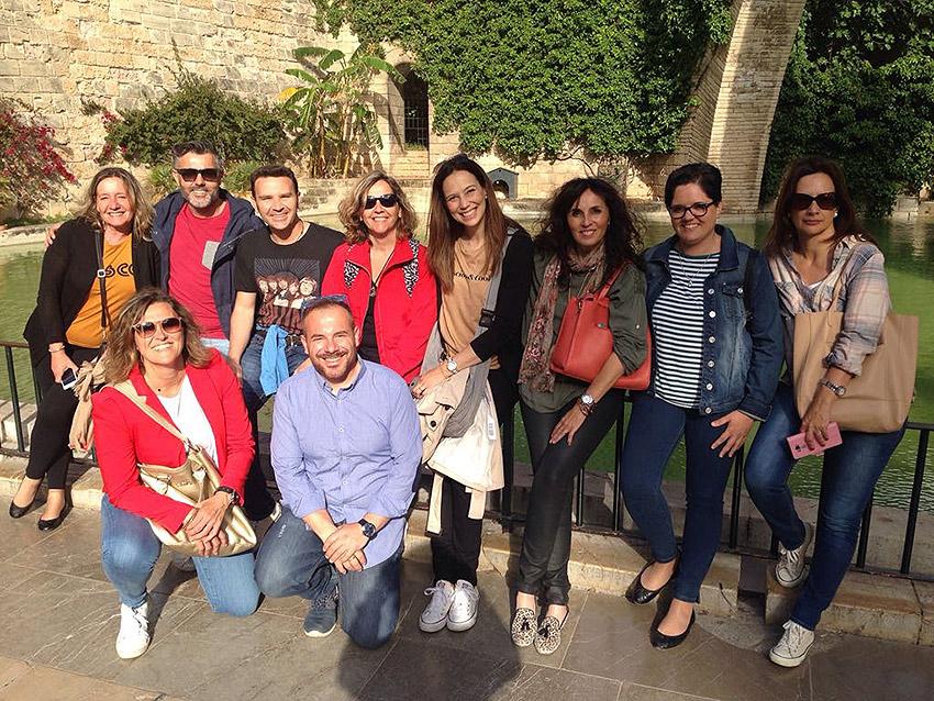 El equipo de orientadores de La Salle Valencia-Palma se reúne en Pont d'Inca