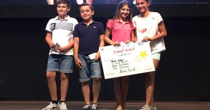 Cuatro alumnos de La Salle Alcoi consiguen el tercer premio en el 'Concurso ideaT-Kids' de la UPV