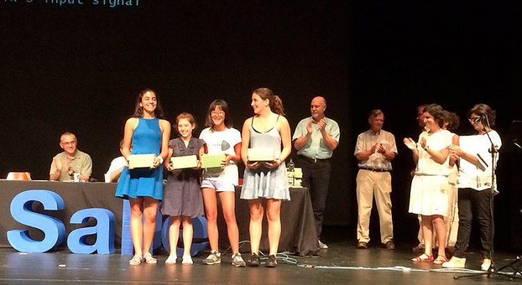 Alumnas del colegio La Salle Palma, ganadoras de la II edición del Concurso de Videograbaciones Científicas