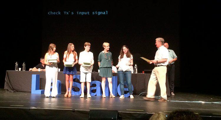 Alumnas del colegio La Salle Inca, ganadoras de la II edición del Concurso de Videograbaciones Científicas