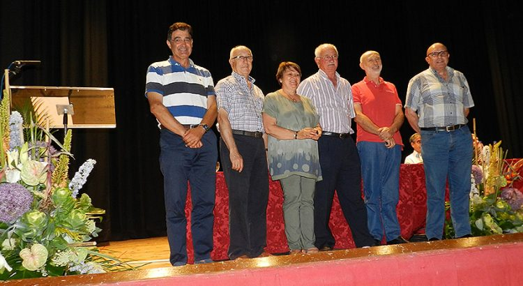 Homenajeados en Paterna