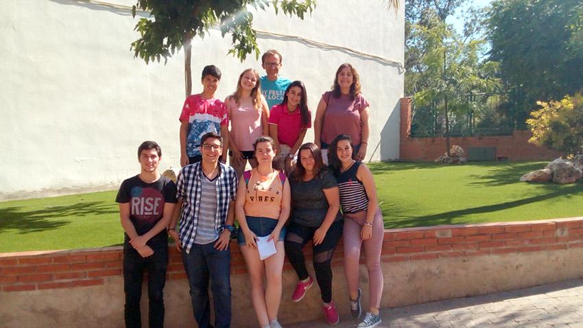 Grupo de confirmandos de 4º de ESO de la Escuela Profesional La Salle de Paterna